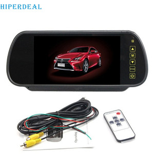 Wholesale HIPERDEAL Reverse Parking system inch TFT LCD Screen Car Monitor rearview mirror Night Vision Rearview camera D