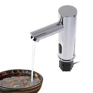 Wholesale Bathroom Automatic Infrared Sensor Sink Faucet Touchless Basin Water Tap Deck Mounted