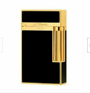 2020 new S T 2 Metal Gas Lighter Cigarette Smoking Ping Sound Deluxe Gold