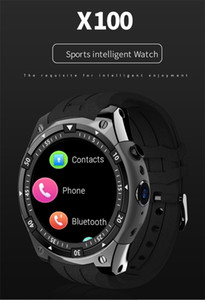 X100 Bluetooth SmartWatch Android 5.1 MTK6580 3G WiFi GPS Smart Watch Men for Samsung Watch PK KW88 GW11 QW09 GT88