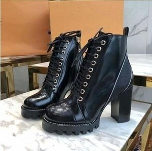 Wholesale Brand New Women Export Luxury Designer Shoes Leather Boots Martin Boots Booties High Heels Gift Boxes A