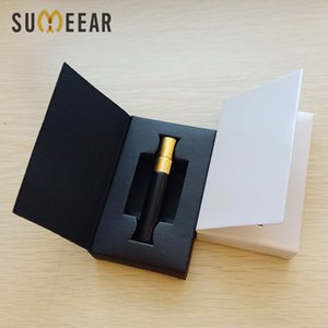 100Pieces Lot 5ml perfume Bottle With Atomizer Packaging Boxes And Glass Perfume Bottle Customizable LOGO