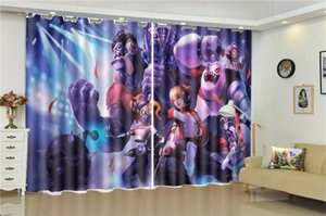 Wholesale Printing Blackout D Window Curtain d Cartoon Character Animals Beautiful And Practical Blackout Curtains In The Living Room Bedroom