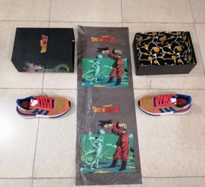 New Updated Dragon Ball Z x ZX 500 Goku Run Shoe Classic Designer Fashion Limited Edition TOP Quality Sport Shoes