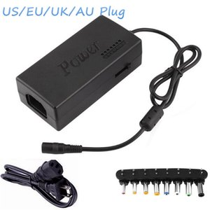 Wholesale Laptop AC Charger Adapter W V With EU UK AU US Plug With Connectors Universal Notebook Charger Power Supply For Lenovo ASUS Acer