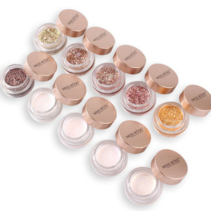 Wholesale gold shine powder resale online - DROPSHIP MISS ROSE Glitter Powder Eyeshadow Pigment Palette Makeup Diamond Shining Silver Gold Pink Waterproof Shimmer Nude Eye Shadow