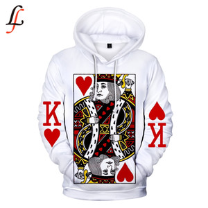 Wholesale Poker D Software New Hoodies Sweatshirt Harajuku Women Men Popular Clothes Casual Hot Sale Hooded XL