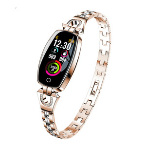 Fashion H7 women smart wristband Fitness bracelet Heart Rate Monitor blood pressure blood smart band best gift for Ladies
