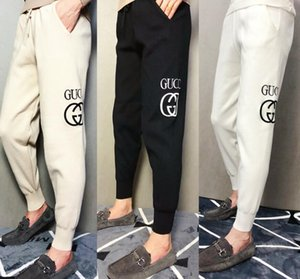 Wholesale G Mens high quality letter embroidery sweatpants designer track jogging pants womens yoga joggers track streetwear sweat pants