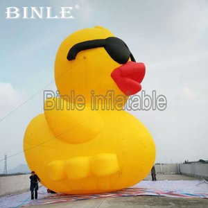 Wholesale Advertising yellow giant inflatable duck canada inflatable rubber duck for outdoor beach decoration