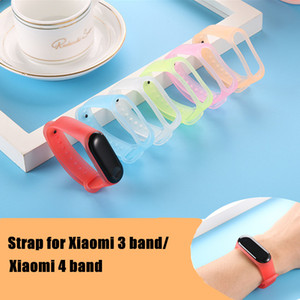 Wholesale mi gold resale online - Mi Band Wrist Strap Clear Silicone Jelly color For Xiaomi Mi Band Strap Bracelet Miband Wristbands Pulseira
