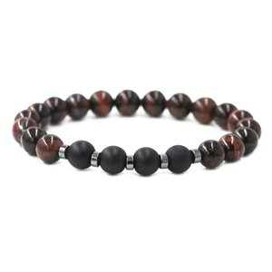 Wholesale Chakra Men s dark blue Natural Stone Bracelets Black Buddha Beads Bracelet bangle beads Bracelet Jewelry for men gift