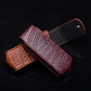 Wholesale 2018 NEW Business Style Luxury Genuine Leather Flip Case For Vertu Signature S CEO Mobile Phone Full Protective Cover