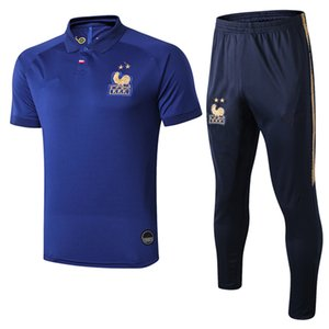 France FFF 100 years tracksuit MBAPPE centenary 2019 GRIEZMANN Centenaire Maillot 2019 football set sports wear on Sale