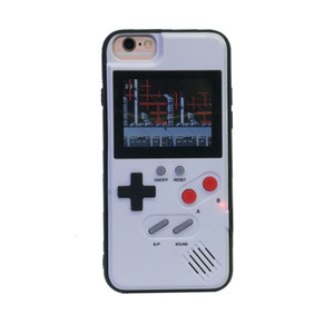 Wholesale galaxy video games resale online - Silicone Phone Case Mini Video Game Player Handheld Game Console Games for Iphone Plus Pro Max XS Max Protector Cover
