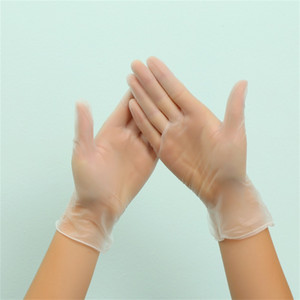 100pcs Lot Disposable Vinyl Gloves Transparent PVC Gloves Garden Universal For Home Cleaning, Powder Free, Smooth Touch