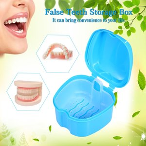 Wholesale Denture Bath Box Case Dental False Teeth Storage Box Cleaning Container Rinsing Basket Retainer Appliance Holder Tray Organizer
