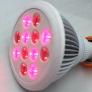 Pain Relief 660nm 850nm 24W Red LED Therapy Light Red and Near Infrared LED Light Therapy Bulb 660nm 850nm 24W Anti-aging