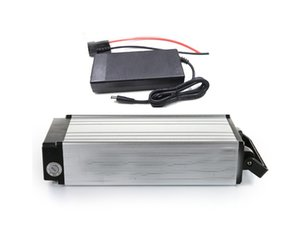 Wholesale lithium ion batteries resale online - 1500W Rear Rack Ebike Battery V V Ah Electric Bike Battery Packs S8P Lithium Ion Battery