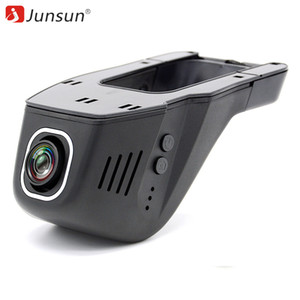 Wholesale Junsun WiFi Car DVR Camera Novatek 96655 IMX 322 Full HD 1080p Universal Dashcam Video Registrator Recorder with GPS (Optional)