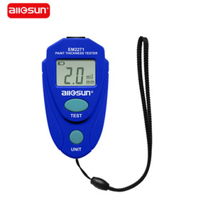 All-Sun EM2271 Digital LCD Coating Thickness Gauge Car Painting Thickness Tester Paint Meter DIY Instrument