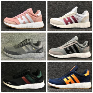 Wholesale Free Shipping Iniki Runner Boost Black Grey Red Blue Shoes Men Womens PRIDE OF THE Wholesale & Drop Shipping 36-45 I-5923 Originals 05.