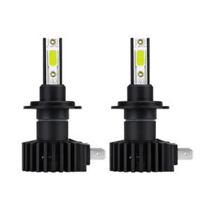 Winsun 2PCS H8 H11 COB LED Headlight Bulbs for Cars 60W 6000K White Light 12000LM Car Exterior Lights LED Headlight 12V 28V