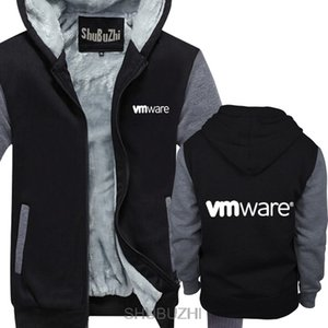 Wholesale VMWARE Cloud Software Company hoodie fashion biger size warm coat new male winter gift top brand jacket sbz4385