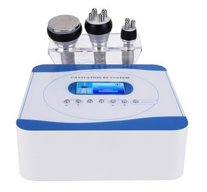 3 in 1 40K Ultrasonic Cavitation Radio Frequency Vacuum RF Cellulite Slimming Machine Weight Loss Beauty Equipment RF Skin DHL Free Shipping