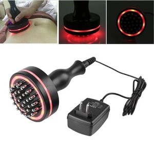 Hot Electric Brush Infrared Micro-electric Heating Scraping Device Slimming Body Brush J190706