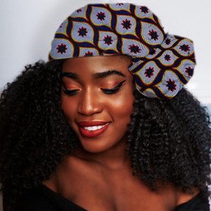 "African hair accessories headwrap women African Traditional Headtie scarf ethqff women headband printed Cotton Wax 72""x22"""