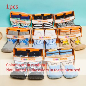 Wholesale Baby Girls And Boys Socks Child Baby Shoes Cartoon Silicone Flooring Socks Soles Toddler