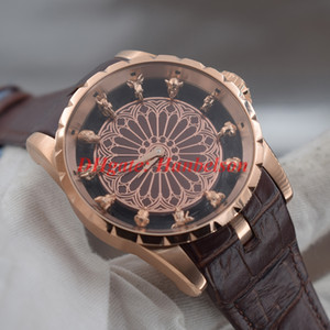 Wholesale chinese zodiac gold for sale - Group buy Limited edition Chinese zodiac Beasthead Dial mens Wristwatches High quality steel case automatic movement montre de luxe