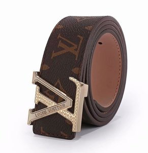 New Mens Belts Luxury Ceinture Automatic Buckle Genuine Leather Belts For Men Waist Belt on Sale