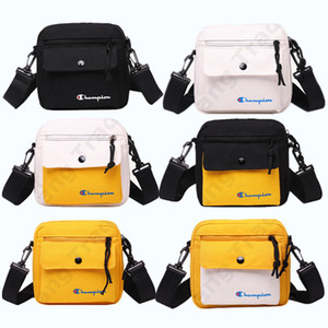 Wholesale Champions Letter Canvas Brand Crossbody Handbags Waist Bag Backpack Belt Fanny Packs Packet Shoulder Bags Boutique Women Men Wallet C3268