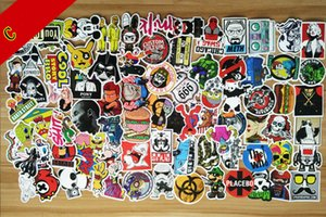 Wholesale 500 Different Car JDM DIY Stickers Sexy Decal Cool Styling Skateboard Luggage Fridge Laptop Bike Motorcycle Car Accessories