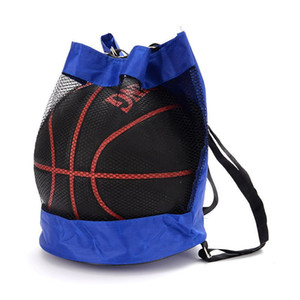 Wholesale mesh backpacks resale online - Basketball Backpack Oxford Volleyball Shoulder String Bag Mesh Soccer Backpacks Storage Bags Outdoor Sports Crossbody Bag Hot