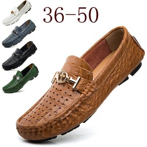 Wholesale Fashion Soft Designer Brand Mens Loafers Shoes With Chains Red Bottom Round Toes Men Wedding Party Breathable Casual Shoes