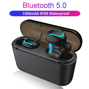 Wholesale Wireless Bluetooth Earphones Q32 Tws Handsfree Headphones Sports Earbuds Gaming Headset Compatible with Universal Phones
