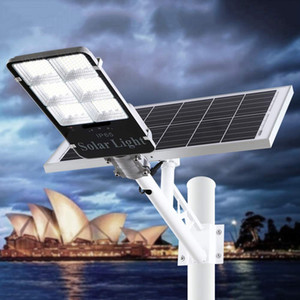 Wholesale Upgraded W W LED Solar Flood Light warm white cold white white colors Dusk to Dawn Solar Powered Street Light