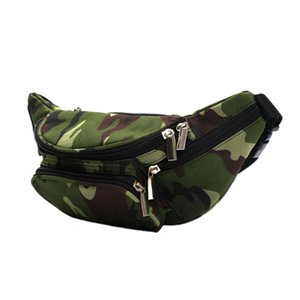 Wholesale Waterproof sports waist bag polyester men women hiking waistpacks outdoor gadgets storage unisex bum pack camouflage