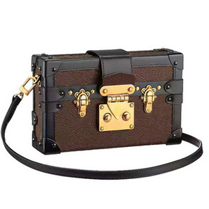 Hot Sale Women Handbags Evening Bags Leather Fashion Box Designer Clutch Brick Messenger Shoulder Bag Petite Malle Come With Box on Sale