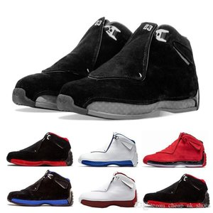 Red Shipping Toro Gym Free Suede Sport Royal Men Basketball Shoes Blue Black White 18s Mens Sport Shoes Trainer Sneaker Us 8-13 on Sale
