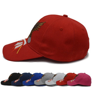 Wholesale korean style snapback cap for sale - Group buy Trump Hat New Style Sunscreen Sunshade Baseball Caps Modern Creative Idea Korean Version Baitao Snapback factory Direct Selling ds p1