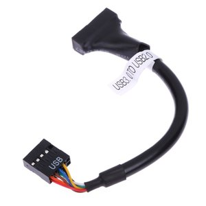 Wholesale JS06 To Usb Pin Female Motherboard Cable Data Cord Wire For Cd romm floppy Drive Panel