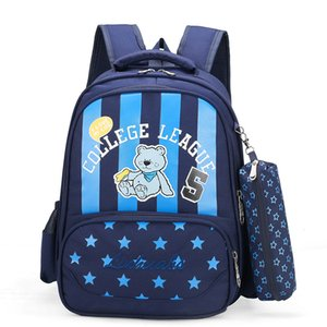 Wholesale primary schools for sale - Group buy New Arrive Jiang Hao New Printing Unisex Primary School Students School Bag Cartoon Childrens School Season Backpack Preppy Customized Gifts