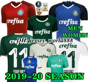 Wholesale Top Thai quality 19 20 Palmeiras SOCCER JERSEY HOME GREEN DUDO G.JESUS JEAN ALECSANDRO Palmeiras Away ALLIONE CLEITON XAVIER football SHIRTS