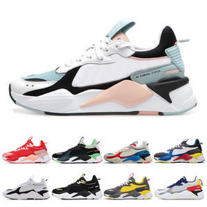 Wholesale Fashion RS X Mens Casual Shoes Reinvention Cool Black white Designer Creepers dad Chaussures Men Women Runner Trainer sports Sneakers