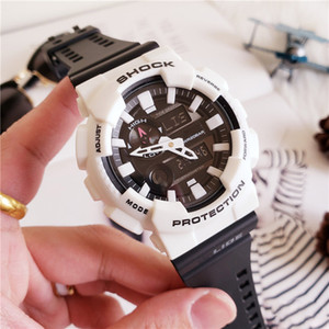 Wholesale Brand Men s watches Top Quality Men Sports watch GAX100 Shock Digital LED Watch Fashion military watch with box
