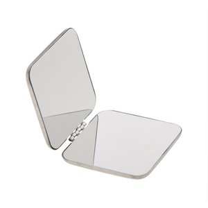 Wholesale Mini Compact Full Stainless Steel Cosmetic Handbag Makeup Magnifying Mirror